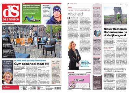 De Stentor - Apeldoorn – 20 november 2017