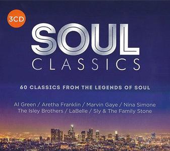 VA - Soul Classics (3CD, 2018)
