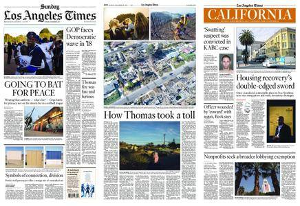 Los Angeles Times – December 31, 2017