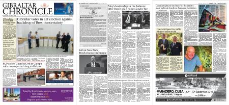 Gibraltar Chronicle – 23 May 2019