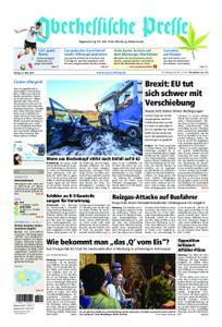 Oberhessische Presse Marburg/Ostkreis - 22. März 2019
