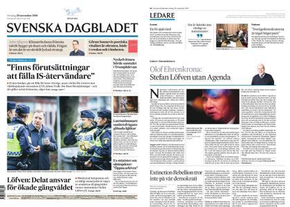 Svenska Dagbladet – 20 november 2019