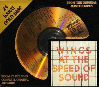 Paul McCartney & Wings - Wings At The Speed Of Sound (1976) [DCC, GZS-1096]