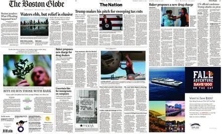 The Boston Globe – August 31, 2017