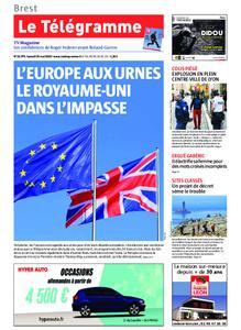 Le Télégramme Brest – 25 mai 2019