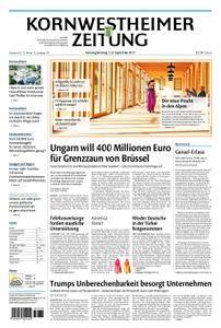 Kornwestheimer Zeitung - 02. September 2017