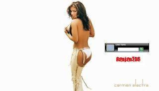 Carmen Electra LOGON SCREEN