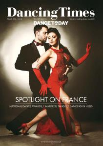 Dancing Times - Issue 1267 - March 2016