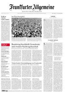 Frankfurter Allgemeine Zeitung - 3 Juli 2020