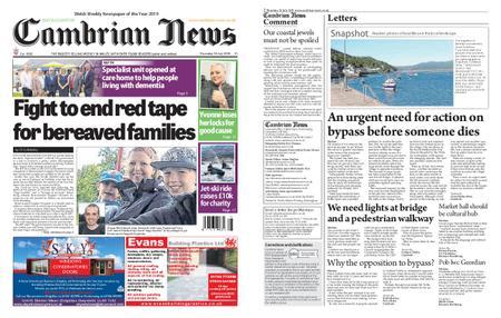 Cambrian News Arfon & Dwyfor – 19 July 2019