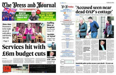 The Press and Journal Moray – February 10, 2018