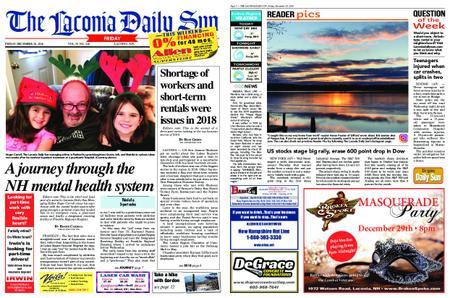 The Laconia Daily Sun – December 28, 2018