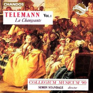Simon Standage, Collegium Musicum 90 - Telemann: La Changeante, Vol.1 (1991)