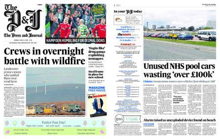 The Press and Journal Moray – April 15, 2019