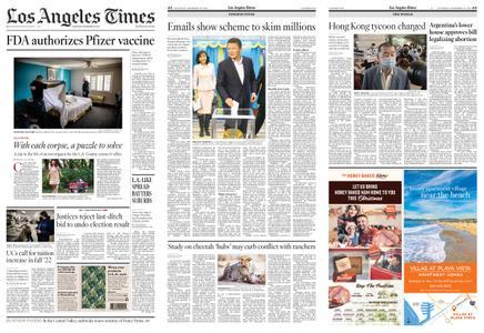 Los Angeles Times – December 12, 2020