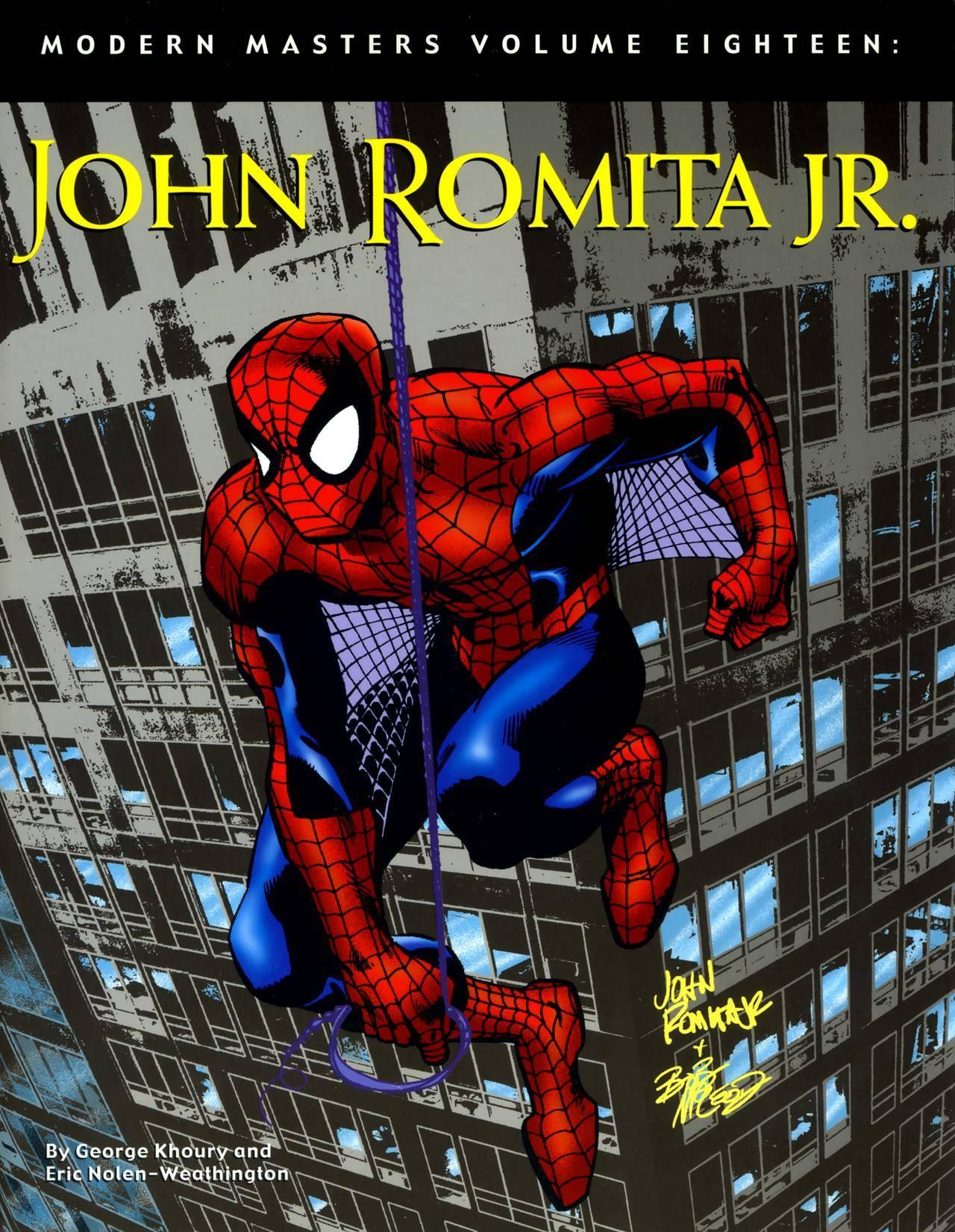Modern Masters Vol 18 - John Romita Jr ArtNet - DCP
