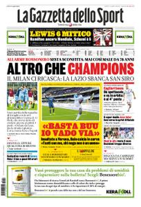 La Gazzetta dello Sport Roma – 04 novembre 2019