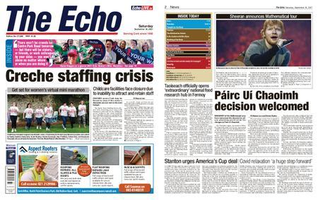 Evening Echo – September 18, 2021