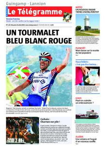 Le Télégramme Guingamp – 21 juillet 2019