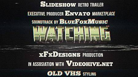80s Retro Titles VHS Effect 6563134 After Effects Template
