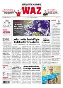 WAZ Westdeutsche Allgemeine Zeitung Oberhausen-Sterkrade - 07. September 2017