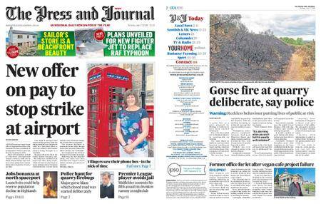 The Press and Journal Moray – July 17, 2018