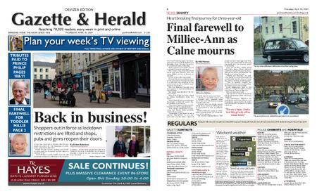 Gazette & Herald – April 15, 2021