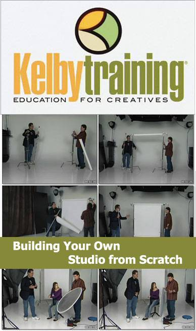 Kelby Training - Building Your Own Studio From Scratch [repost]