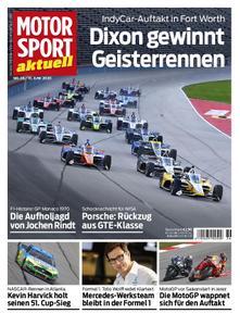 Motorsport Aktuell – 09. Juni 2020