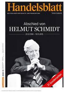Handelsblatt - 11. November 2015