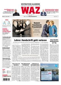 WAZ Westdeutsche Allgemeine Zeitung Oberhausen-Sterkrade - 23. Januar 2019
