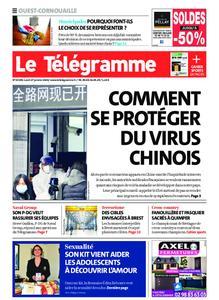 Le Télégramme Ouest Cornouaille – 27 janvier 2020