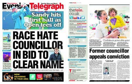 Evening Telegraph First Edition – July 19, 2018