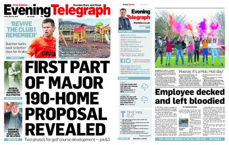 Evening Telegraph First Edition – March 08, 2019