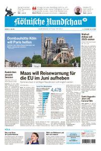 Kölnische Rundschau Wipperfürth/Lindlar – 19. Mai 2020