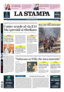 La Stampa Torino Provincia e Canavese - 10 Settembre 2020