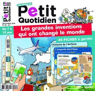 Les Fiches du Petit Quotidien - décembre 2018