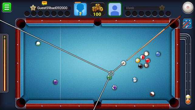 8 Ball Pool v3.9.1 (Extended Stick Guideline)