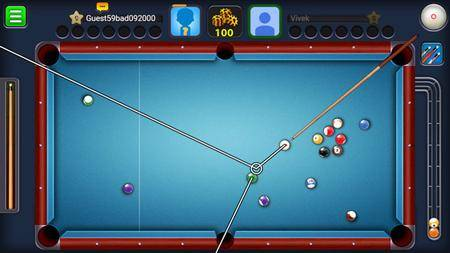 8 Ball Pool v3.9.1 (Extended Stick Guideline)