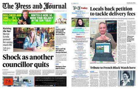 The Press and Journal Moray – November 30, 2017