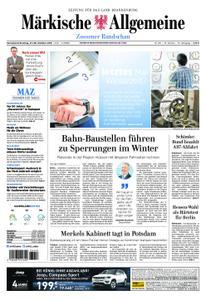Märkische Allgemeine Zossener Rundschau - 27. Oktober 2018