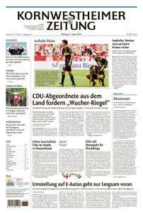 Kornwestheimer Zeitung - 27. August 2018