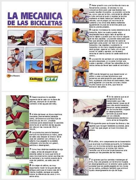 La Mecánica de las Bicicletas [Spanish   PDF   eBook]