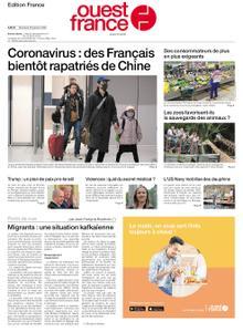 Ouest-France Édition France – 29 janvier 2020