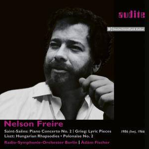 Nelson Freire - Nelson Freire plays Saint-Saëns' Piano Concerto No. 2 and Piano Works by Grieg & Liszt (2017)