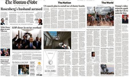 The Boston Globe – December 01, 2017