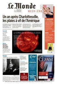 Le Monde du Samedi 11 Août 2018