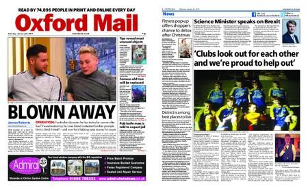 Oxford Mail – January 26, 2019