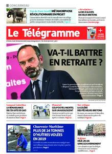 Le Télégramme Concarneau – 19 décembre 2019
