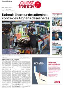 Ouest-France Édition France – 27 août 2021